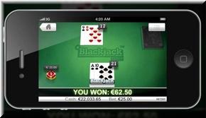 Blackjack frame