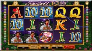 Starlight Kiss gameplay frame