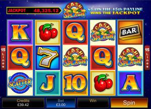 cash splash jackpot mobile slot