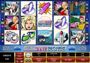 gaming club agent jane blonde
