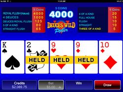 Video Poker Mobile Version
